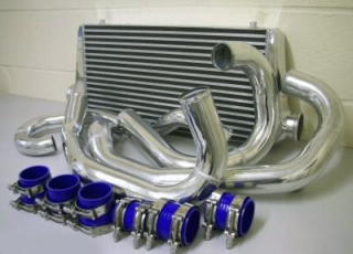 Intercooler kit Wagner Tuning pro Porsche 997/2 911 Turbo/Turbo S 500/530PS (08-